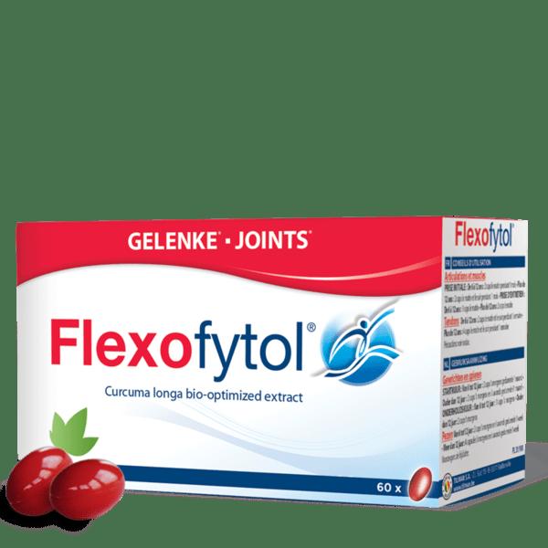Флексофитол (Flexofytol) Куркума капсули x60